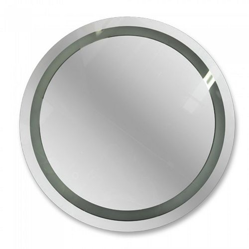 Oval Miroir Éclairé Par Lavabo