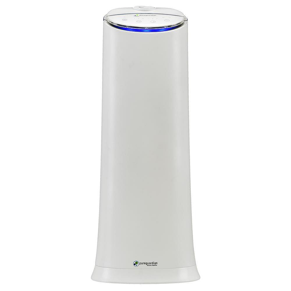 PureGuardian H3200WAR 100-Hr Cool Mist Ultrasonic Humidifier with Aroma Tray by Guardian Technologies