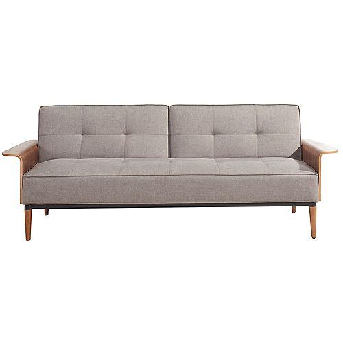 Canapé-lit Grayson, gris