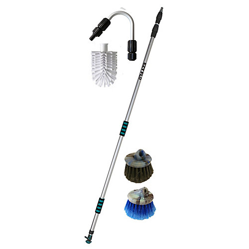 High Reach Gutter/Window/Patio Cleaning Kit