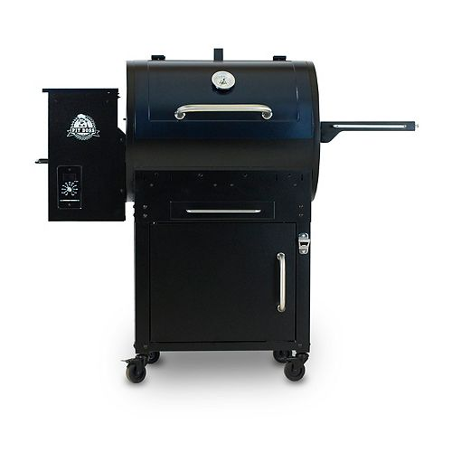 PB700SC Pellet BBQ with Flame Broiler