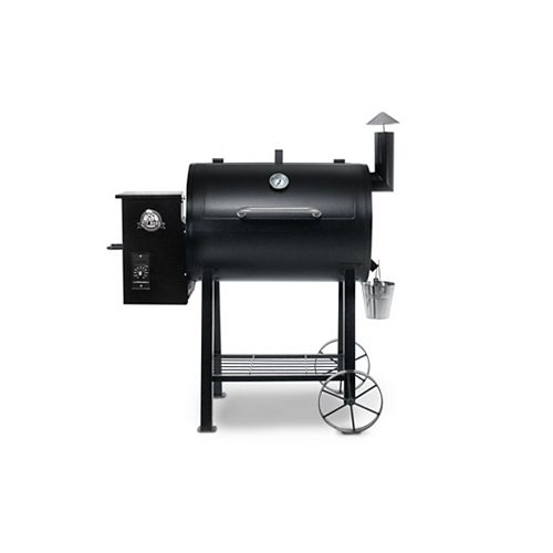 PB820FB Wood Pellet BBQ with Flame Broiler