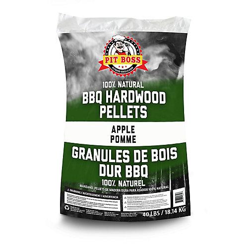 Granules de bois de pommier, 40 lb