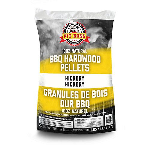 Granules de Bois Hickory 40lb