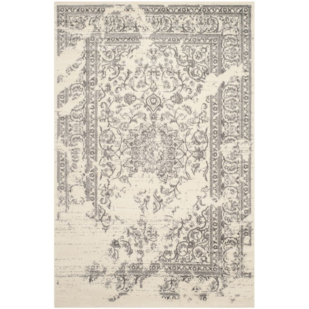 Safavieh Adirondack Alexa Ivory / Silver 4 ft. x 6 ft. Indoor Area Rug