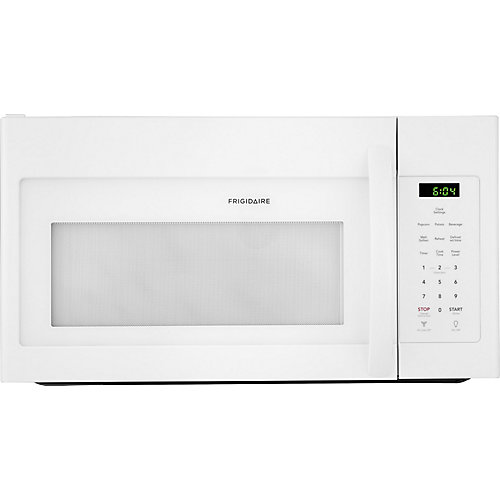 30-inch W 1.6 Cu. Ft. Over-The-Range Microwave in White