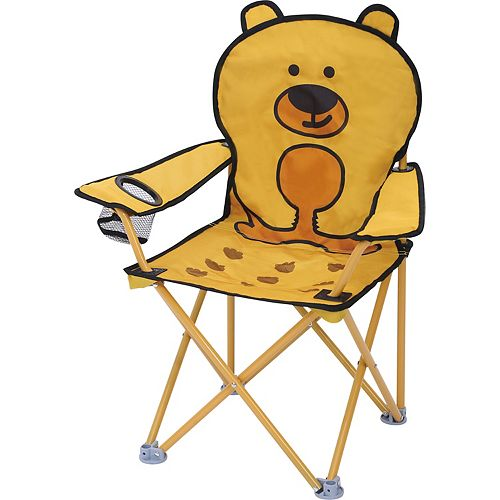 HDG 23.4-inch W x 15-inch L x 28.3-inch H Kids Animal Folding Chair