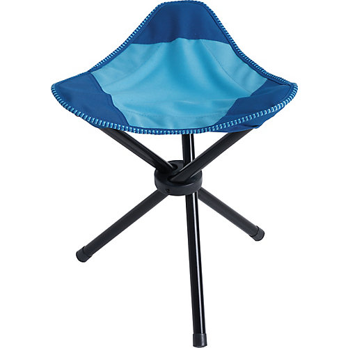 Foldable Stool 14 inch W X 14 inch L X 16 inch H Polyester + Steel