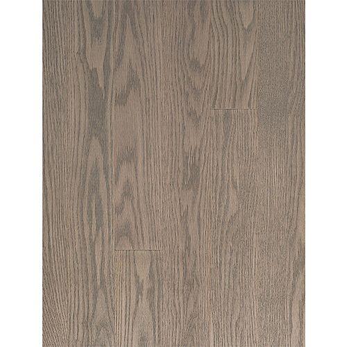 Sand Grey Red Oak¾-inch x 3 ¼-inch Engineered Flooring, Random Lengths up to 45-inch