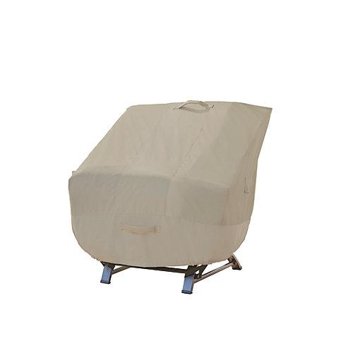 Housse de fauteuil de jardin à assise profonde (ens. de 2)