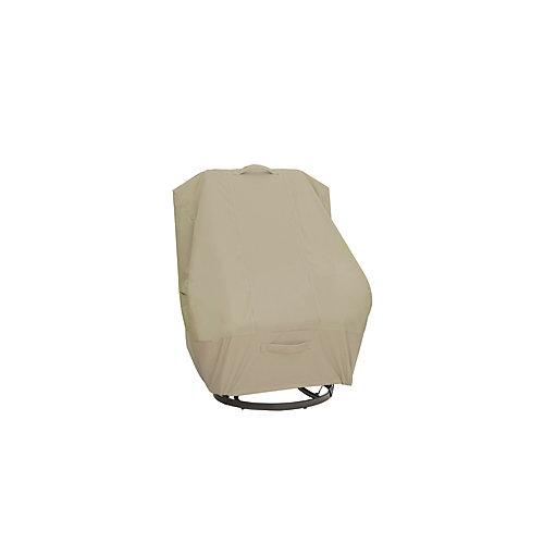 Housse de fauteuil de jardin à haut dossier