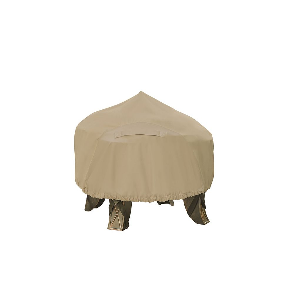 Hampton Bay Round Outdoor Patio Fire Pit  Cover