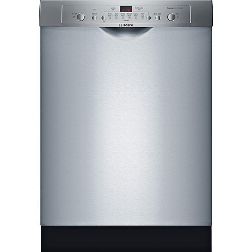 Ascenta 24-inch Front Control  Dishwasher in Stainless Steel, 50dBA, Anti-Fingerprint ENERGY STAR®