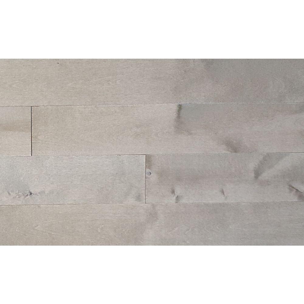 Mistral CDN Birch Muskoka Pebble ¾-inch T x 3¼-inch W x Varying Length Solid Hardwood(20 sq.ft./case)