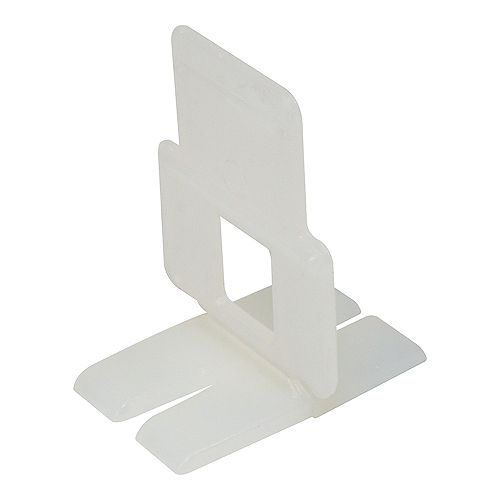 Flat Lash Tile Leveling, Aligning and Spacer Clip (300-Box)