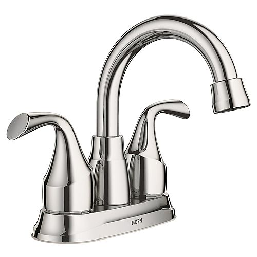 Idora 4-inch Centerset 2-Handle Bathroom Faucet in Chrome