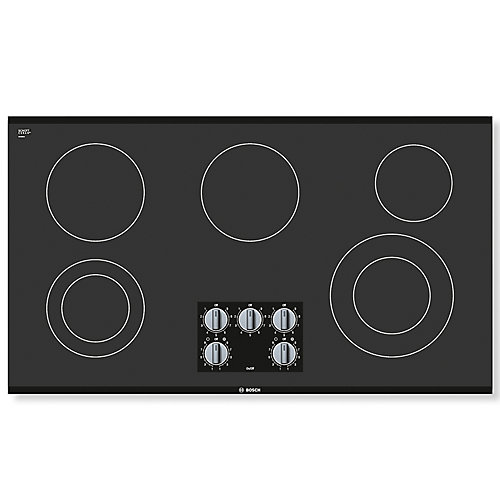 500 Series - 36 inch Electric Cooktop - Frameless Design
