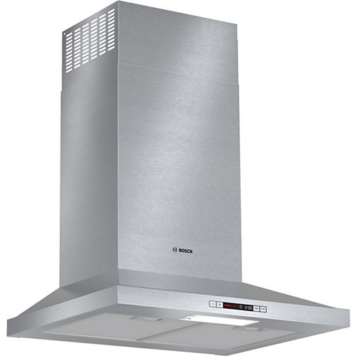 300 Series - ENERGY STAR 24 inch Pyramid Canopy Chimney Hood - 300 CFM - ENERGY STAR®
