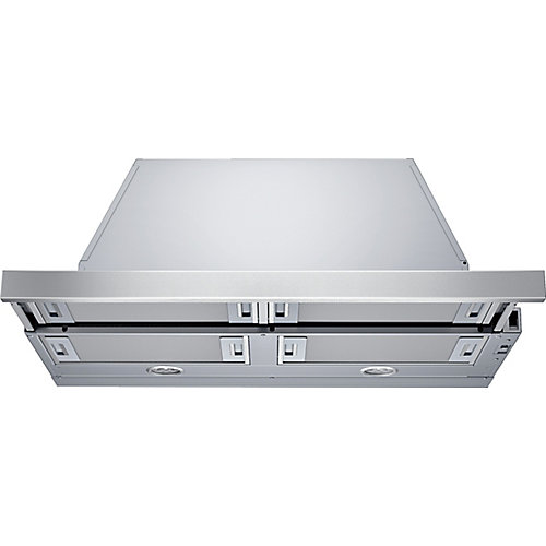 500 Series - 30 inch Integrated Pull-Out Hood - 300 CFM