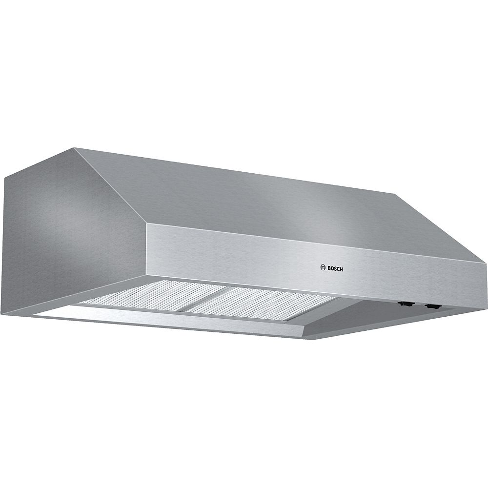 Bosch 800 Series, 30 inch Under-cabinet Wall Hood, 600 CFM
