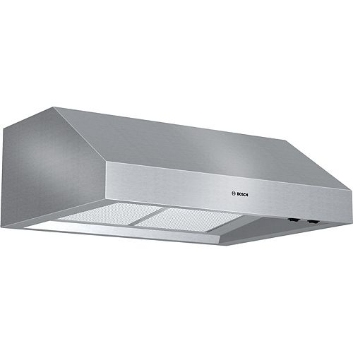 800 Series, 30 inch Under-cabinet Wall Hood, 600 CFM