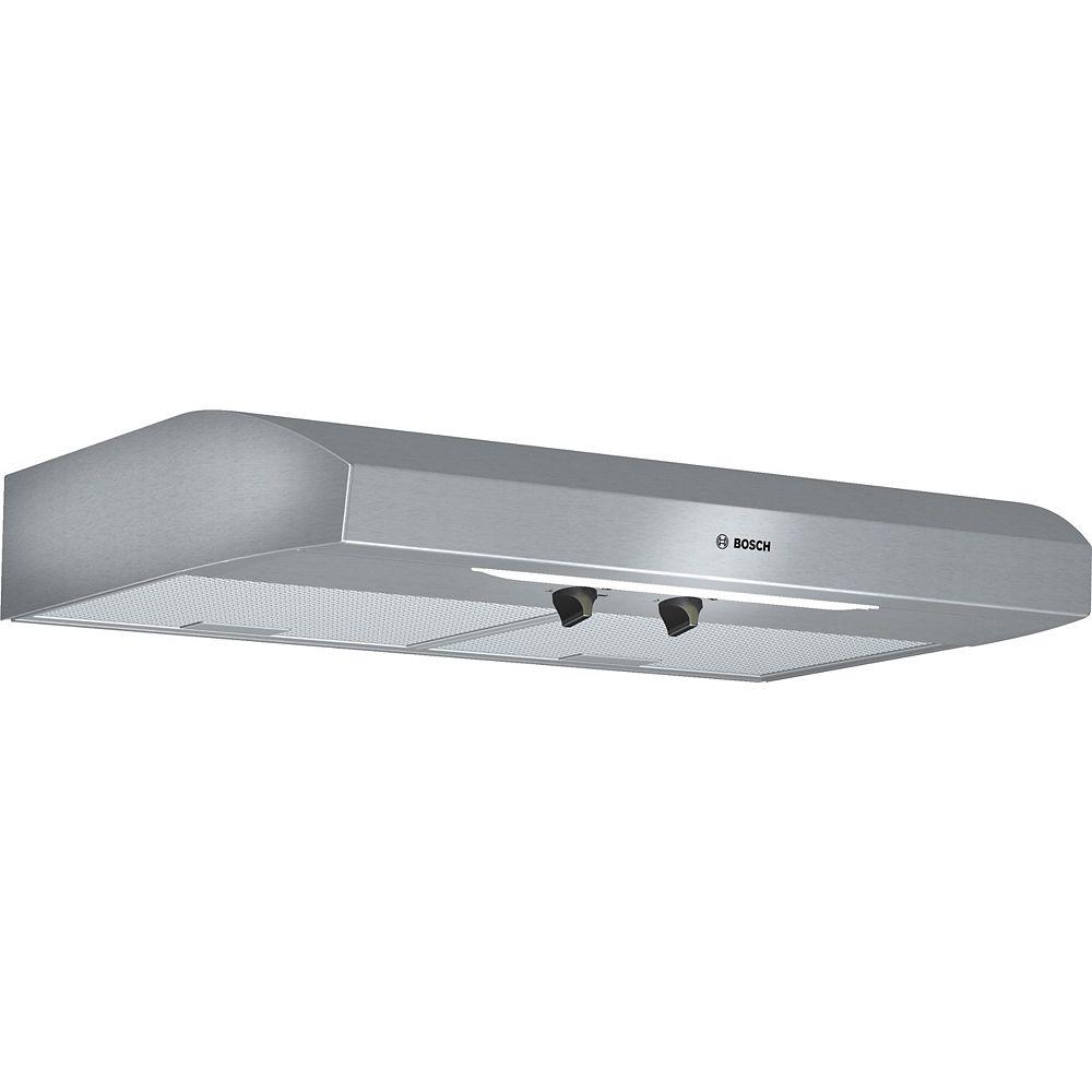 Bosch 300 Series - 30 inch Under Cabinet Hood 280 CFM
