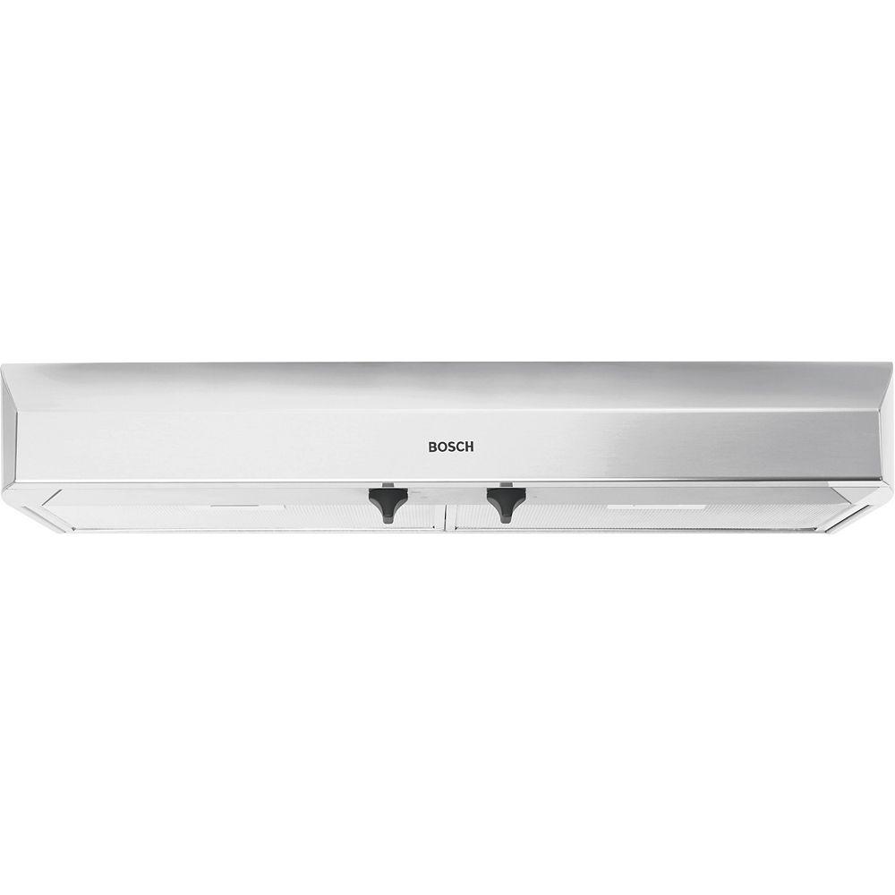 Bosch 300 Series - 36 inch Under Cabinet Hood 280 CFM