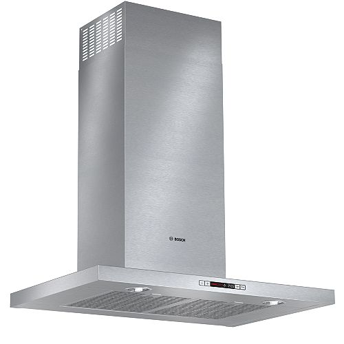 500 Series- 30 inch Box Style Chimney Wall Hood - 600 CFM