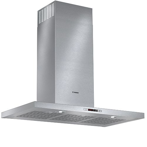 500 Series- 36 inch Box Style Chimney Wall Hood - 600 CFM