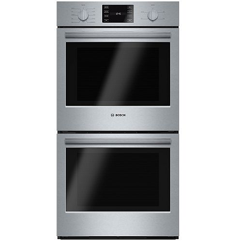 Bosch 500 Series 27-Inch Built-In Double Wall Oven with European Convection