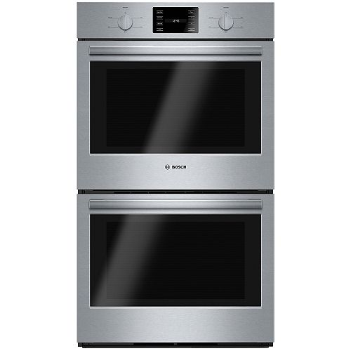 Bosch 500 Series 30-Inch Built-In Double Wall Oven with Thermal Cooking