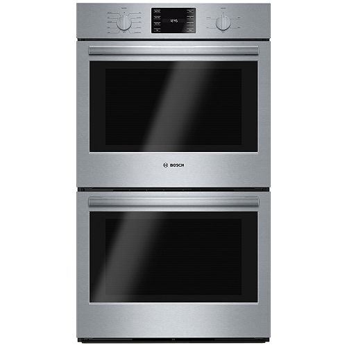 Bosch 500 Series 30-Inch Built-In Double Wall Oven with European Convection