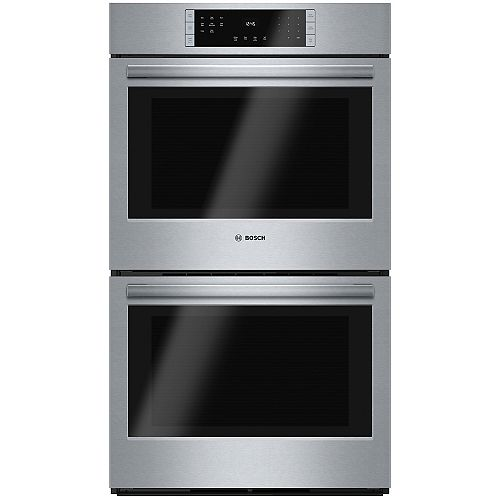 Bosch 800 Series 30-Inch Built-In Double Wall Oven with European Convection