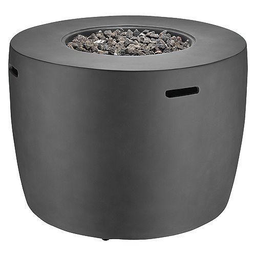 Faux Concrete Fire Round Table