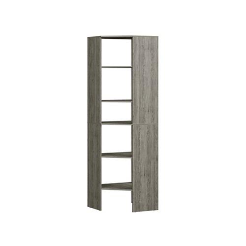 Style+ Corner Floor Tower Coastal Teak