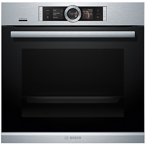 500 Series - 24 inch Home Connect Single Wall Oven w/ European Convection