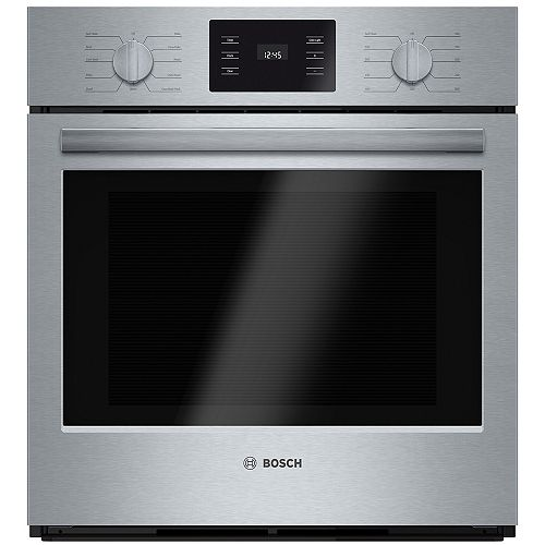 Bosch 500 Series 27-Inch Built-In Single Wall Oven wth European Convection