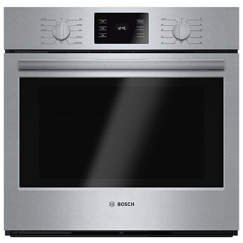Bosch 500 Series 30-Inch Built-In Single Wall Oven with European Convection
