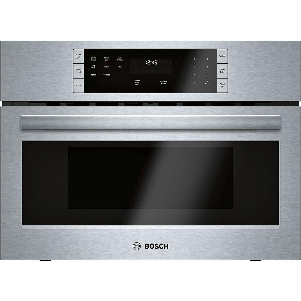 Bosch 500 Series - 27 inch 1.6 cu. ft. Built In Microwave w/ Drop Down Door