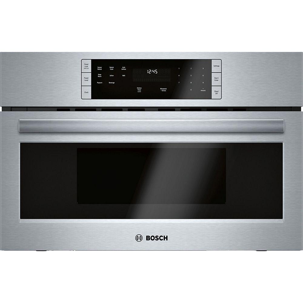 Bosch 500 Series - 30 inch 1.6 cu. ft. Built In Microwave w/ Drop Down Door