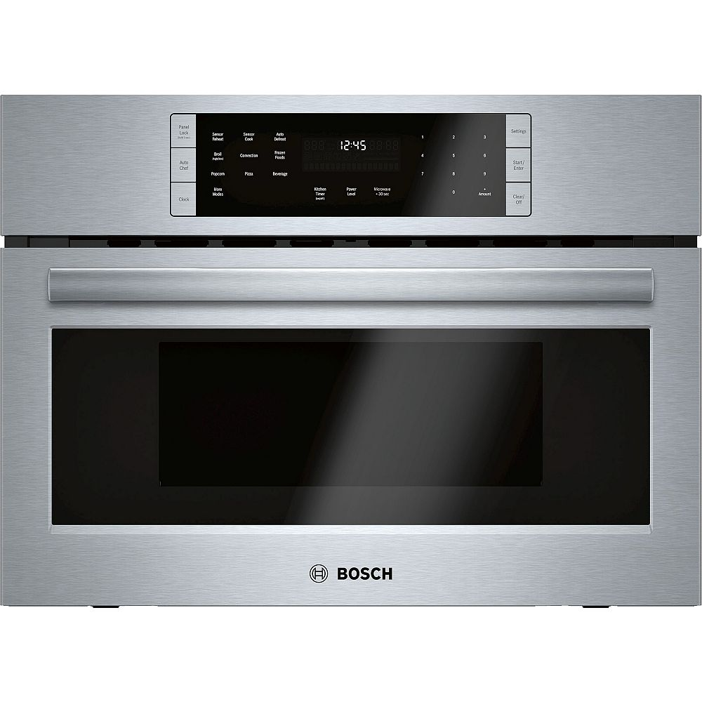 Bosch 800 Series - 27 inch Built In Speed Oven/Convection Microwave - 120V