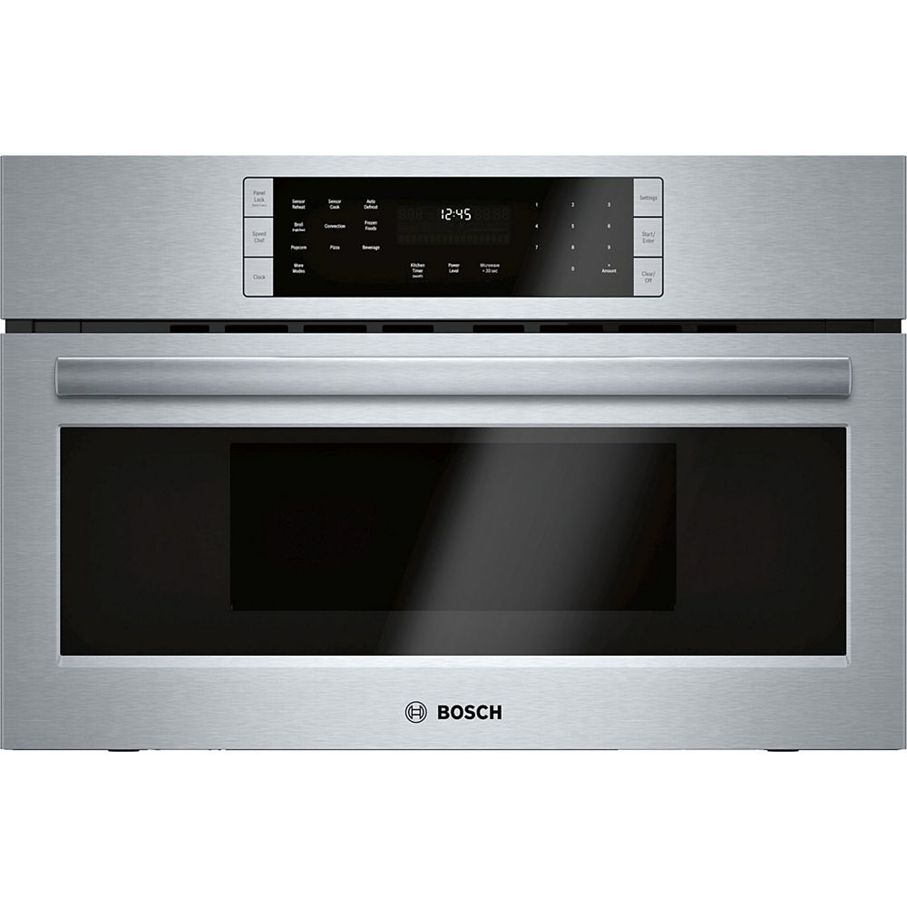 Bosch 800 Series - 30 inch Built In Speed Oven/Convection Microwave - 120V