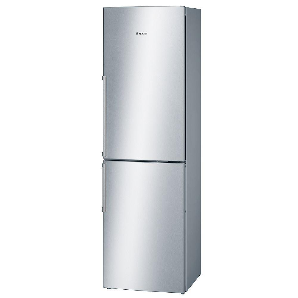 Bosch 500 Series 24-inch 11 cu.ft. Counter-Depth Bottom Freezer Refrigerator in Stainless Steel - ENERGY STAR®
