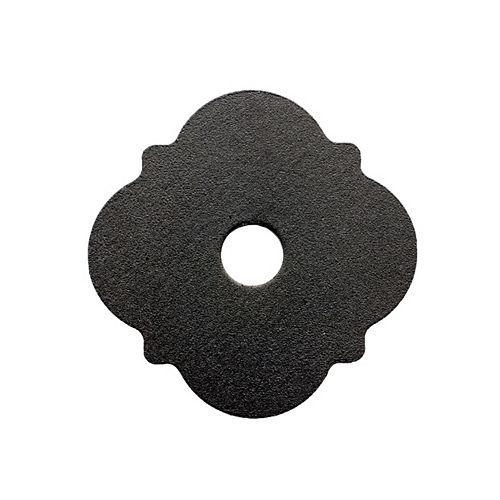 Simpson Strong-Tie Rondelle décorative enduite de poudre noire à galvanisation Z-MAX Outdoor Accents