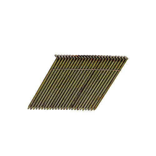 3-1/4-inch x 0.120-Gauge Wire Collated Steel Framing Nails (2,000 per Box)
