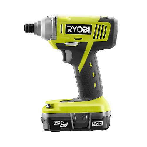 18V ONE+ Lithium-Ion 1/4-inch Cordless Impact Driver Kit