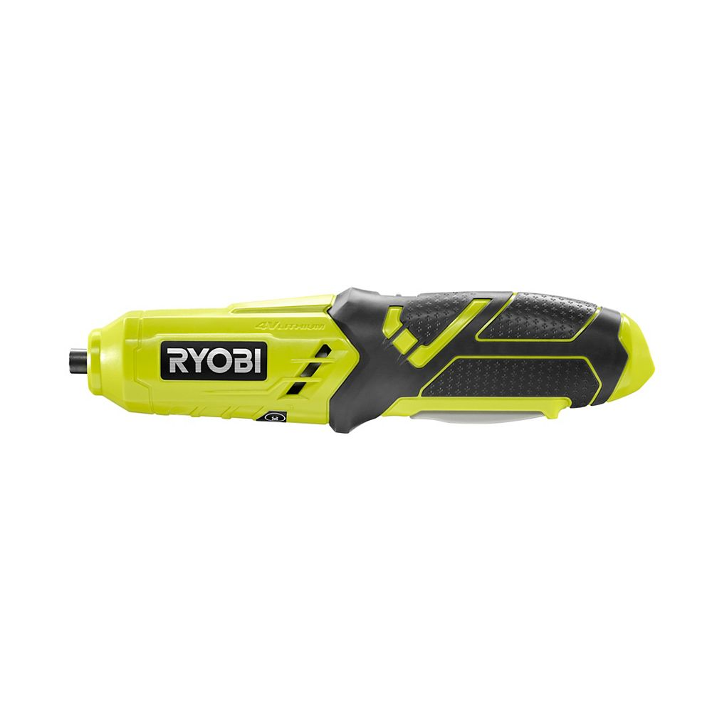 RYOBI 4V Cordless Power Screwdriver with 1/4-inch Hex Quick Connect Chuck