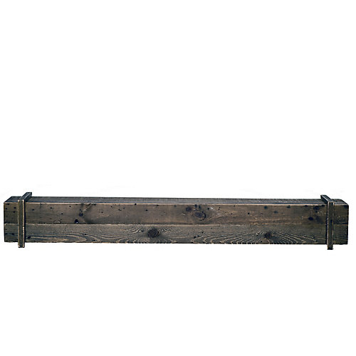 Cavalli Rustic 45 inch Mantel Shelf