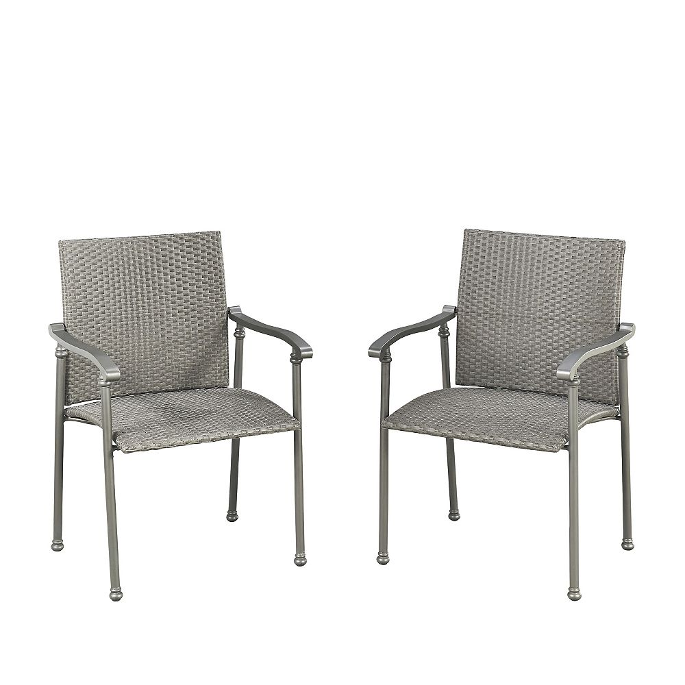 Homestyles Umbria Patio Arm Chair (Set of 2)