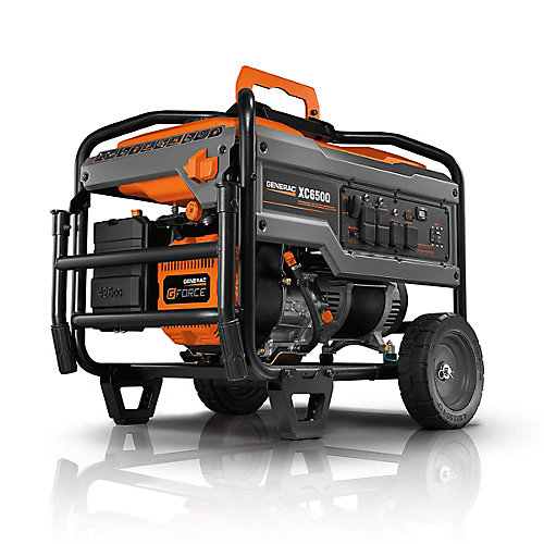 XC 6500 Watt Gasoline Powered Portable Generator